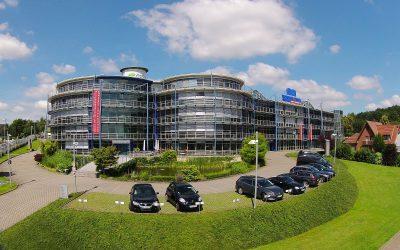 Ansicht aus geringer Höhe Technologie Centrum Bissendorf