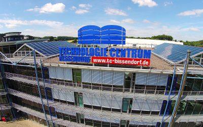 Drohnennahaufnahme Technologie Centrum Bissendorf