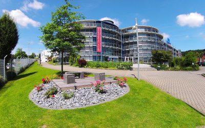 Bodennahe Ansicht Technologie Centrum Bissendorf